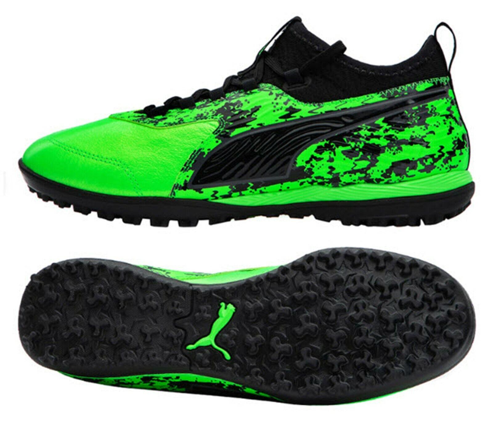 Puma para hombre uno 19.3 netfit TT Botines De Fútbol Zapatos De Futsal verde Gimnasio Spike 10548903