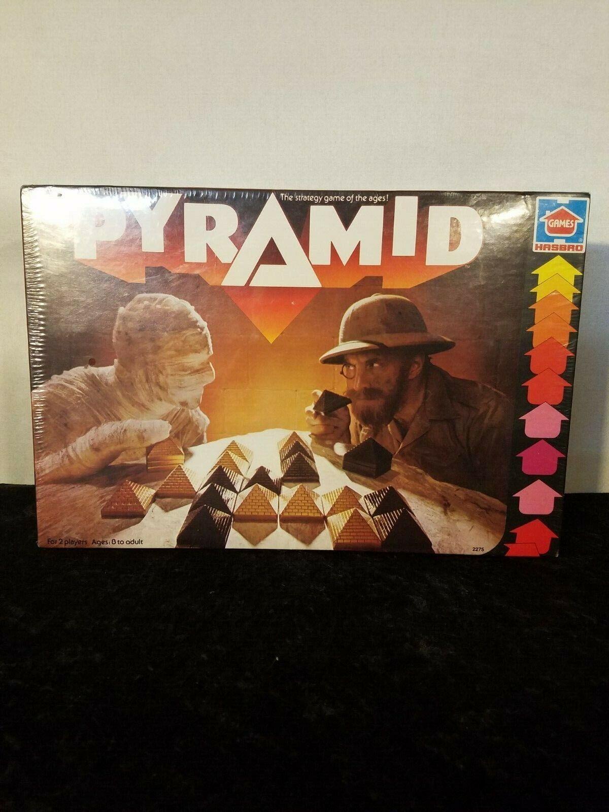Vintage 1978 pirámide Juego De Mesa Hasbro 2275 sellado de fábrica totalmente nuevo en caja