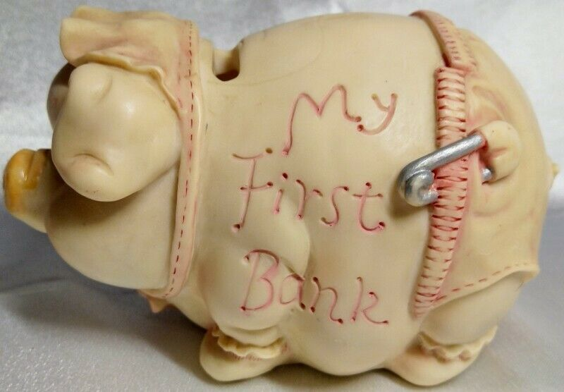 """OLD - BABY/KIDS """"MY FIRST PIGGY BANK"""""""