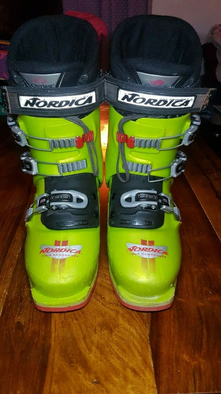Size 8/9 Nordica Ski touring/hiking boots made in Italy Tr 12, tour randonee