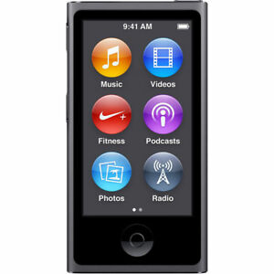 Brand-New-Apple-iPod-nano-7th-Generation-Space-Gray-16GB-Warranty-Bundle