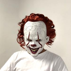Pennywise-Mask-Clown-It-Halloween-Stephen-King-Costume-Cosplay-Scary-Joker-Prank