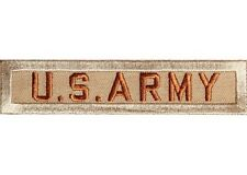 "(B6) U.S. ARMY Desert 4"" x 1"" iron on patch (1227) Biker Vest Military"