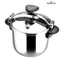Magefesa Star R Stainless Steel Pressure Cooker 10 Quart
