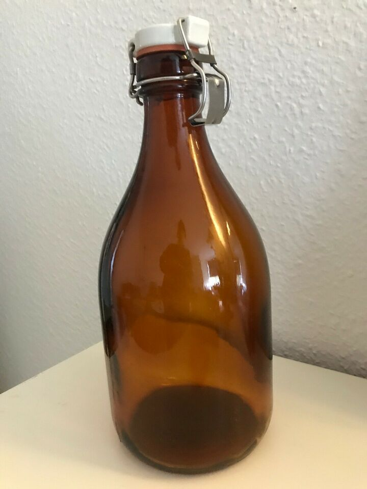 Glas, Mælkeflaske, Gammel patentflaske