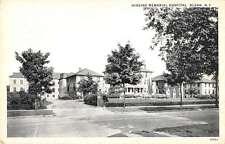 Olean New York Higgins Memorial Hospital Street View Antique Postcard K31186