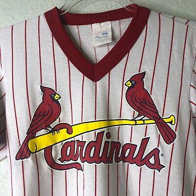 Vintage 1980s M Single Stitch St Louis Cardinals Tee By Nutmeg