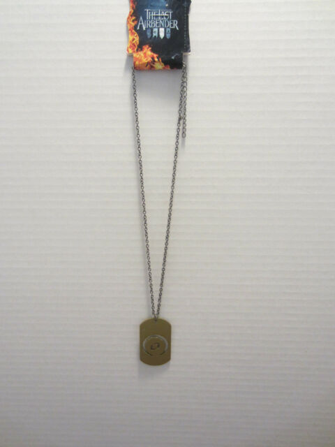 AVATAR THE LAST AIRBENDER LAB EARTH DOG TAG NECKLACE GOLD