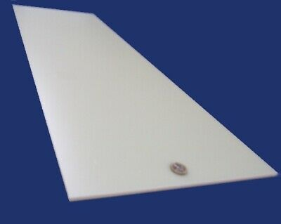 "Thick x 12/"" x 36/"" 1//4/"" Tivar UHMW PE White Sheet .250/"""