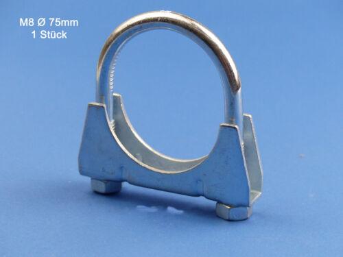 Bügelschelle M8x75 mm 1 Stück