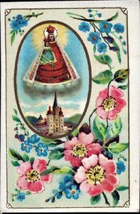 Mary-Zell-Pilgrimage-Holy-Icon-Devotional-Picture-Austria-Coloured-M-5949