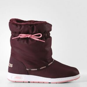 ff0389e6e Details about Adidas NEO WARM COMFORT Boots Women's Shoes Walking AW4289  Snow Winter red