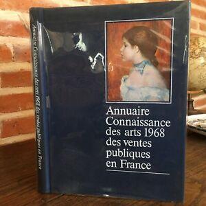 Conoscenza-Delle-Arti-Annuario-Catalogue-Vendita-Pubblico-IN-Francia-1968