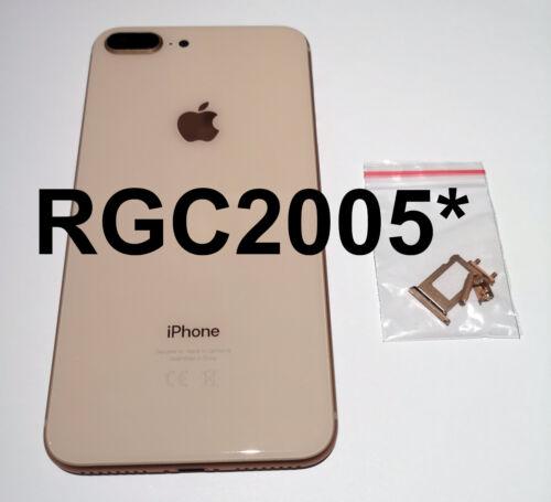 Nuevo iPhone 8 Plus De Reemplazo De La Batería Espalda Cubierta Trasera /& Marco Oro O Rose