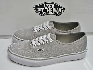 4b047e00b5055c Image is loading VANS-AUTHENTIC-SHIMMER-SILVER-VN-000VOEC3A-WOMEN-039-