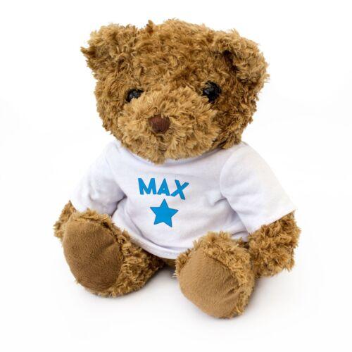 Teddy Bear Gift Present Birthday Xmas Cute And Cuddly MAX NEW