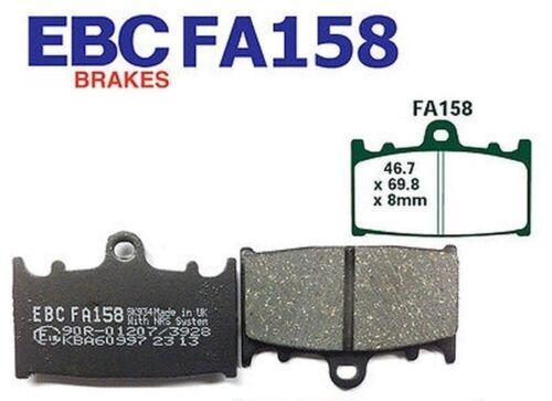EBC Bremsbeläge Bremsklötze FA158 VORN Kawasaki ZXR 750 M1//M2//L1-L3 93-95