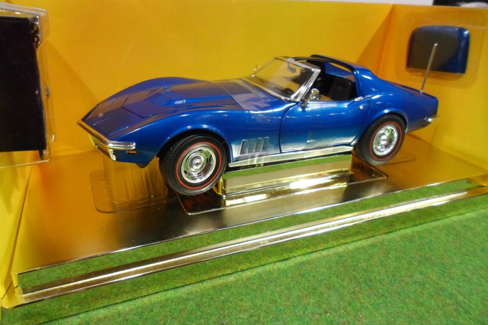 CHEVROLET CORVETTE COUPE 427 1967 cabriolet 1 18 AMERICAN MUSCLE ERTL 33176 voit