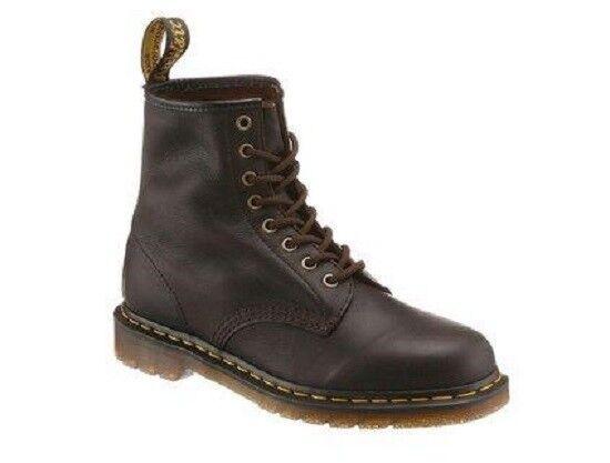 Dr. MARTENS Herren Schuhe Stiefel BO500   8 Loch Leder Gr 44    | Große Auswahl