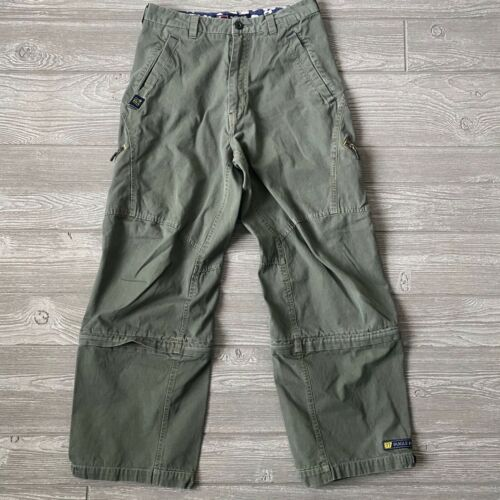 Bugle boy crop ca4go zip off Legs Pants Mens Size
