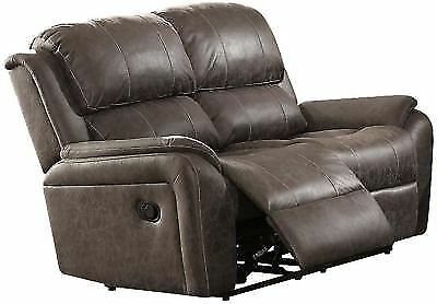 Enjoyable Acme Barnaby Motion Loveseat In Gray Polished Finish 52881 For Sale Online Ebay Beatyapartments Chair Design Images Beatyapartmentscom