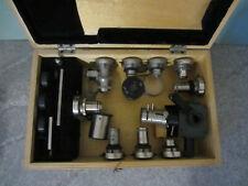 Lomo Microscope Polarising Set Objective Reflected Adapter Compensator Quartz