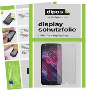 2-2x-Lenovo-Motorola-Moto-X4-Schutzfolie-matt-Displayschutzfolie-Folie-Display