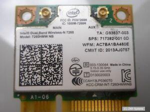 Ersatzteil-HP-7260HMW-WLAN-Karte-802-11-a-b-g-n-2x2-adapter-717382-001-BULK