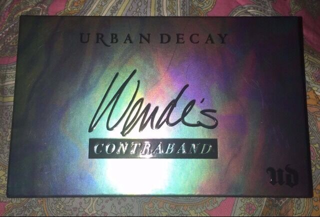 NIB Urban Decay Wende's Contraband Sephora VIB ROUGE Eye Palette SOLD OUT