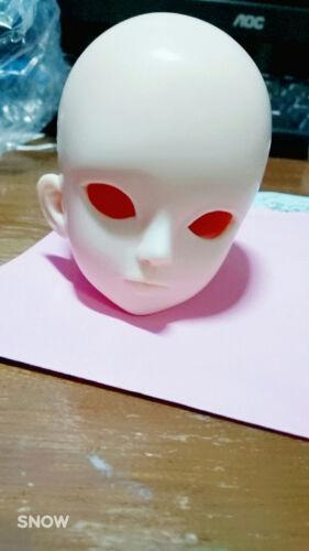 New Ash Plume 1//4 BJD// SD Doll Head Dollfie Thyme Thyme Open Eyes Doll Head