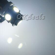 2 x T11 BA9S 5050 SMD 5 LED Car Light Bulb Lamp T4W 3886X 12V  Super White Nice