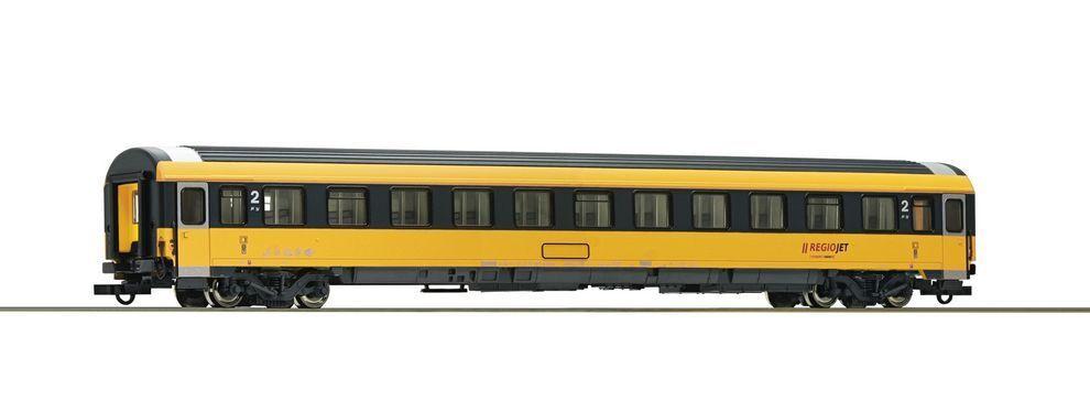 ROCO 74338 Regiojet EUROFIMA entrenadores BMZ 2ª clase VI EP nueva escala H0
