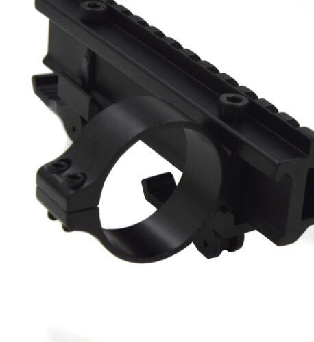 Anillo Táctico 40mm se monta Soporte 20mm montaje Carril Weaver Picatinny barril Nuevo