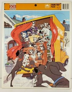 Disney 101 Dalmatians Frame Tray Puzzle Golden Kids Collectible #8319 Complete