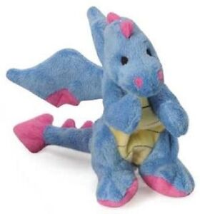 Sherpa-Go-Dog-Squeaker-PERIWINKLE-DRAGON-w-Chew-Guard-DOG-TOY