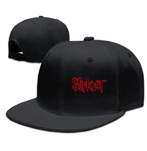 Image is loading Music-Slipknot-Logo-Adjustable-Snapback-Flat-Baseball-Hat- f2745e14cd9