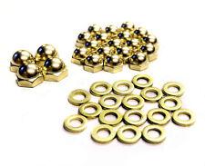 Harley Shovelhead rocker box valve cover brass acorns Old-Stf acorn kit