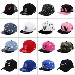9e81a34b92f Baby Boy Girl Kids Baseball Cap Peaked Visor Cap Snapback Adjustable ...