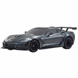 Kyosho-ASC-MR03-RWD-Chevrolet-Corvette-ZR1-metallique-Grise-MZP240GM-avec-suivi-NEUF