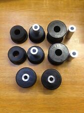 BMW E36 REAR SUBFRAME BUSHES, Trailing Arm DURAFLEX EXTREME Black Polyurethane