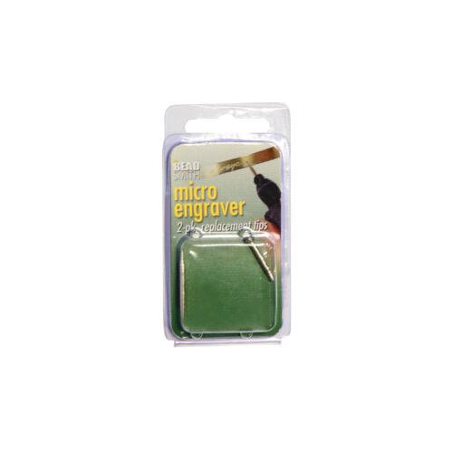 Beadsmith ® Reemplazo Consejos para Spotlight Micro Grabador Herramienta alimentado por batería