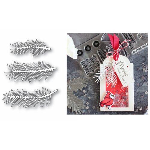 Christmas Flower  Cutting Dies Metal Stencil for DIY Scrapbooking Paper Craft