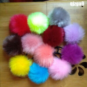 2-x-6CM-Fluffy-Pompom-Elastic-Hair-Ties-Fur-Ball-Ponytail-Girls-Hair-Accessories