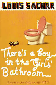 There-039-s-a-Boy-in-the-Girls-039-Bathroom-Louis-Sachar-New