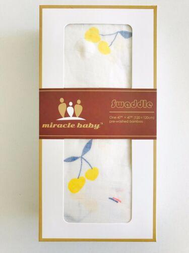 100/% PURE BAMBOO Muslin Baby Swaddle BNIB LARGE SIZE 120cm x 120cm Wrap Bedding