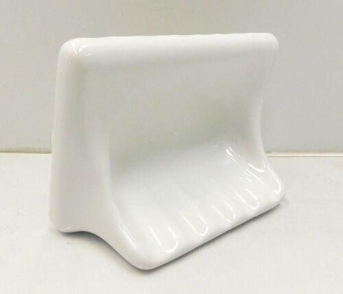 7x5 Overall E3-640 NEW White Ceramic Tile Soap Dish 4x6 Inset