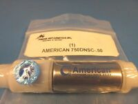 American Cylinder 750dnsc-.50, 3/4 Bore, Double Acting Nose Mount, .50 Stroke