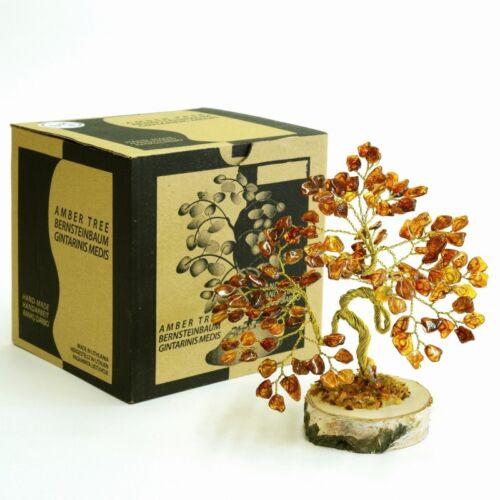Amber Tree of Happiness  Bonsai 13cm  135 Baltic  Amber Stones