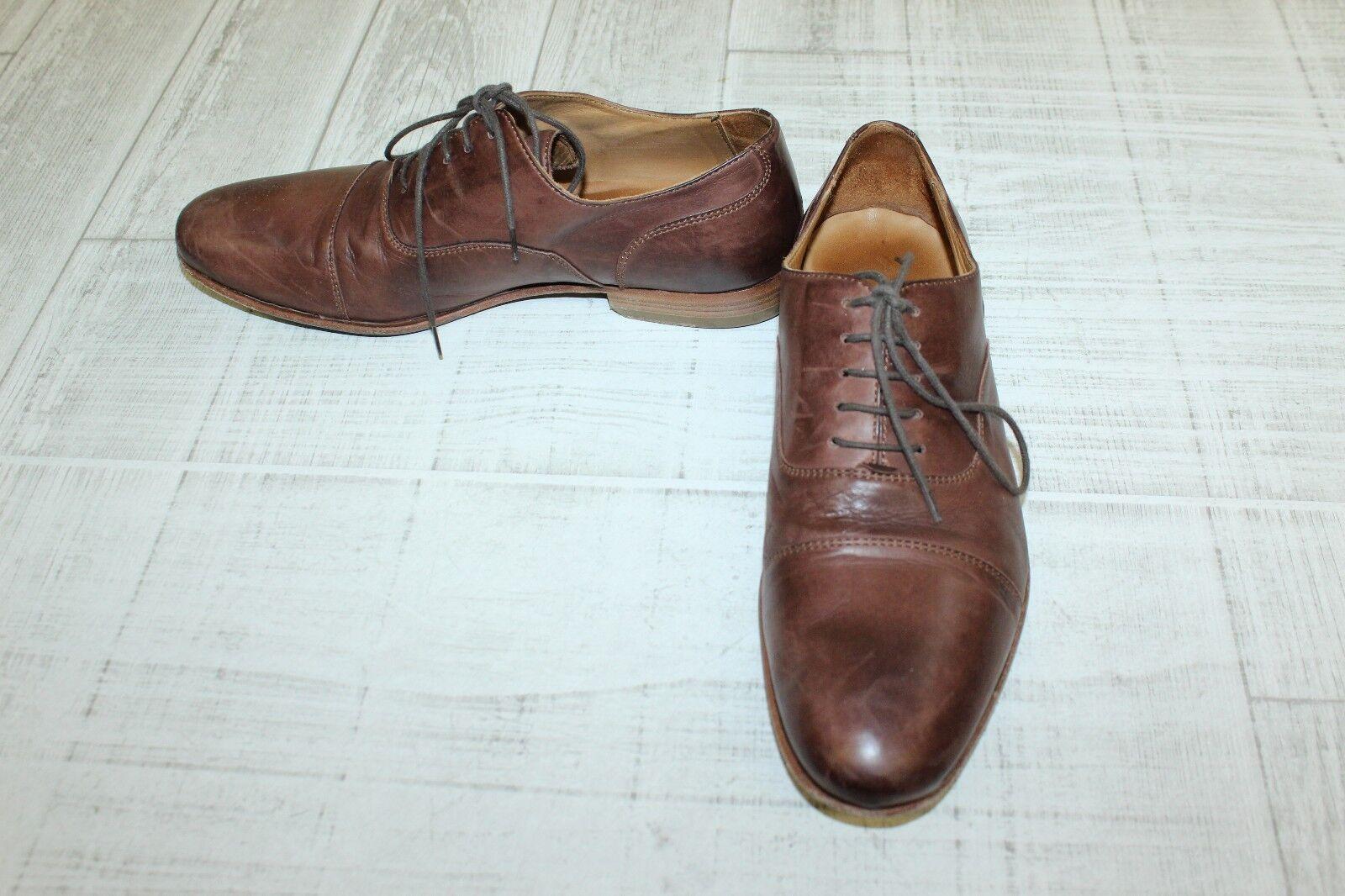 Massimo Matteo 58591 Cap Toe Bal 7, Oxford - Men's Size 7, Bal Brown d0f544