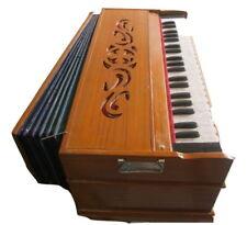 Harmonium Teak Wood Swar Varsha 440 Hz Extra Height Long Sustain